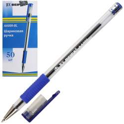 Ручка масляная, пишущий узел 0,7мм, цвет чернил синий Beifa BE-AA999/c