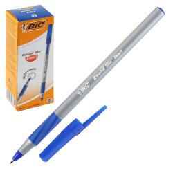 Ручка пишущий узел 0,7мм, игольчатая, цвет чернил синий Round Stic Exact Bic 918543