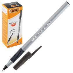 Ручка пишущий узел 0,7мм, игольчатая, цвет чернил черный Round Stic Exact Bic 918542