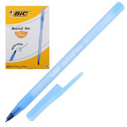 Ручка пишущий узел 1,0мм, цвет чернил синий Round Stic Bic 921403