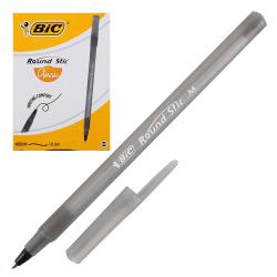 Ручка пишущий узел 1,0мм, цвет чернил черный Round Stic Bic 920568