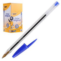 Ручка пишущий узел 1,0мм, цвет чернил синий Bic 847898