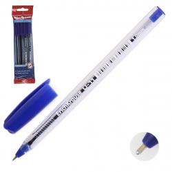 Ручка шар 1,0 игольч трехгран прозр корп Ultra Glide Technology U-11 набор 4шт EK 46786 син бл/уп