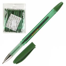 Ручка масляная, пишущий узел 0,7мм, цвет чернил зеленый Tukzar TZ 4764 М-G