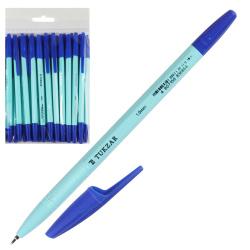 Ручка масляная, пишущий узел 1,0мм, цвет чернил синий Tukzar 16275