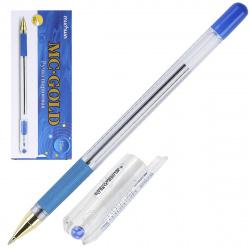 Ручка масляная, пишущий узел 0,5мм, цвет чернил синий MC Gold MunHwa BMC-02
