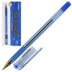 Ручка масляная, пишущий узел 0,7мм, цвет чернил синий MC Gold MunHwa BMC07-02