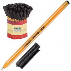 Ручка пишущий узел 1,0мм, цвет чернил черный Office Pensan 1010