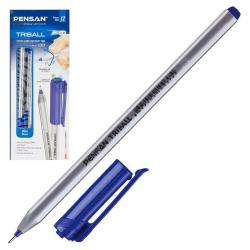 Ручка пишущий узел 1,0мм, игольчатая, цвет чернил синий Triball Pensan 1003/384831