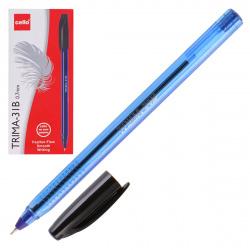 Ручка шар 0,7 игольч трехгран тонир корп  Cello Trima-31B однораз 6342 син к/к
