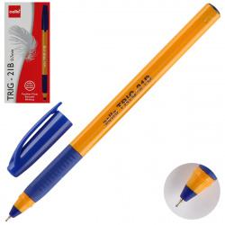 Ручка шар 0,7 игольч трехгран желт корп резин манжет Cello Tri-Grip yellow barrel однораз 748 син к/к