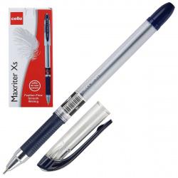 Ручка пишущий узел 0,7мм, игольчатая, цвет чернил синий Maxriter XS Cello 814347