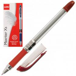 Ручка пишущий узел 0,7мм, игольчатая, цвет чернил красный Maxriter XS Cello 814349