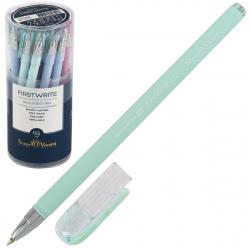 Ручка шар 0,5 цветн корп BrunoVisconti FirstWrite Zefir 20-0239 син пл/уп ассорти