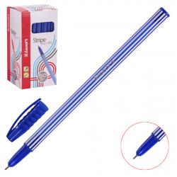 Ручка пишущий узел 0,7мм, игольчатая, цвет чернил синий Stripes Luxor 31131