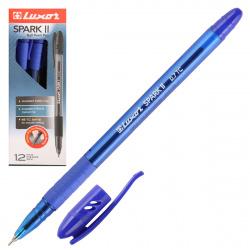 Ручка пишущий узел 0,7мм, игольчатая, цвет чернил синий Spark Luxor 31072/12 Bx