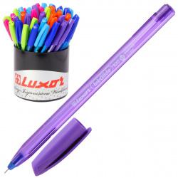 Ручка пишущий узел 0,7мм, игольчатая, цвет чернил синий, ассорти 6 видов InkGlide 100 Icy Luxor 16700/50 Tub
