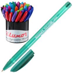 Ручка пишущий узел 1,0мм, цвет чернил ассорти, ассорти 9 видов Focus Icy Luxor 1760/56 DU