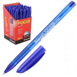 Ручка пишущий узел 1,0мм, цвет чернил синий Focus Icy Luxor 1762