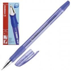 Ручка пишущий узел 0,7мм, игольчатая, цвет чернил синий bille Stabilo 508/41 NF