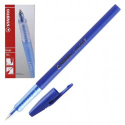 Ручка пишущий узел 0,7мм, цвет чернил синий liner Stabilo 808/41