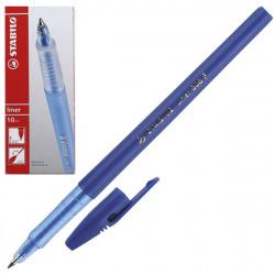 Ручка пишущий узел 0,7мм, цвет чернил синий liner Stabilo 808/41F