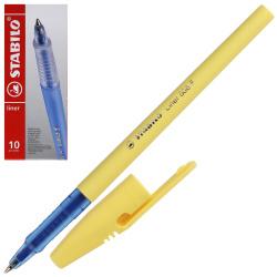 Ручка пишущий узел 0,5мм, цвет чернил синий liner Stabilo 808FP1041-5