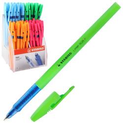 Ручка пишущий узел 0,5мм, цвет чернил синий liner Stabilo 808FL/8041