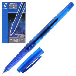 Ручка шар масл 1,0 тонир корп резин манжет Pilot BPS-GG-M L син к/к