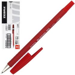 Ручка пишущий узел 0,7мм, цвет чернил красный Rubber Zebra R-8000-R