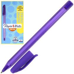 Ручка пишущий узел 1,0мм, игольчатая, цвет чернил фиолетовый InkJoy 100 Cap PaperMate S0977330