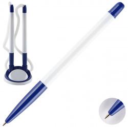 Ручка шар 0,7 наст на липучке двойная FO-PH01 NP син