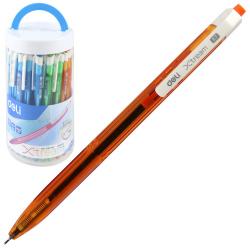 Ручка авт шар 0,7 игольч тонир корп X-tream однораз EQ02836-1/1215492 син пласт/уп ассорти