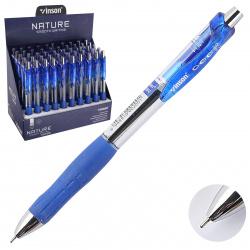 Ручка автоматическая, масляная, пишущий узел 0,7мм, игольчатая, цвет чернил синий Schreiber 200