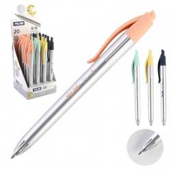 Ручка автоматическая, пишущий узел 1,0мм, цвет чернил синий Silver Milan 966876