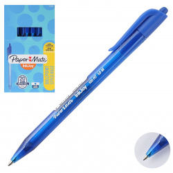 Ручка автоматическая, пишущий узел 1,0мм, цвет чернил синий InkJoy 100 RT PaperMate S0957040