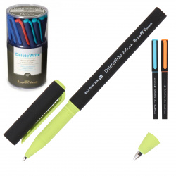 Ручка шар Пиши-стирай 0,7 цветн корп DeleteWrite Nero 20-0286 син ассорти 3 вида пл/уп