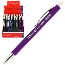 Ручка шариковая, автоматическая, пишущий узел 0,8мм КОКОС 170372 FRIDAY