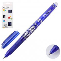 Ручка гелевый, Пиши-стирай, пишущий узел 0,5мм Jumbo Victorian Mazari M-5315-70*