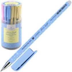 Ручка гел Пиши-стирай 0,5 цветн корп Pastel Slim Soft LXEPSS-PS2 син пласт/уп ассорти 4 вида