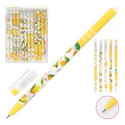 Ручка гелевая, Пиши-стирай, пишущий узел 0,5мм Лимон Basir 1807