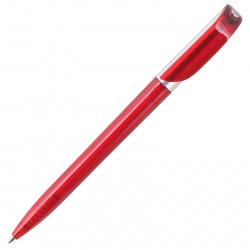 Ручка шариковая, поворотная, пишущий узел 0,7мм, цвет корпуса красный inФОРМАТ BPP03-03-Rd*