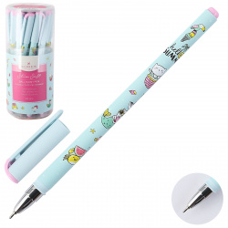 Ручка детская шариковая, масляная, 0,5мм ILLEGALLY CUTE.CAT-MERMAID Slim Soft LOREX LXOPSS-IC4