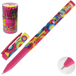 Ручка шар дет 0,7 FreshWrite Crazy Круги цветные 20-0214/33 син пл/уп