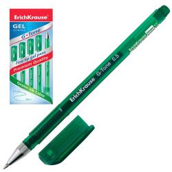 Ручка гел 0,5 тонир корп G-TONE EK 39016 зел к/к