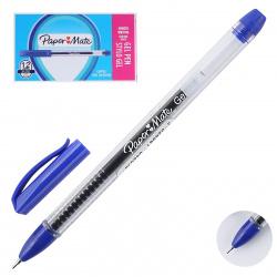 Ручка гелевая, игольчатая, пишущий узел 0,5мм, цвет чернил синий PM JIFFY GEL TUCK BLUE PaperMate R2084419