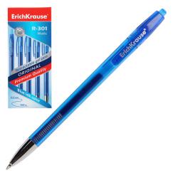 Ручка гелевая, пишущий узел 0,5мм, цвет чернил синий R-301 Original Gel Matic Erich Krause 46460