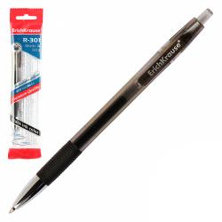 Ручка гелевая, пишущий узел 0,5мм, цвет чернил черный R-301 Original Gel Matic&Grip Erich Krause 46817