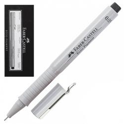Ручка капиллярная 0,05 Faber-Castell Еcco Pigment 166099 черный картонная коробка