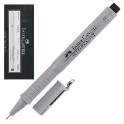 Ручка капиллярная 0,2 Faber-Castell Еcco Pigment 166299 черный картонная коробка